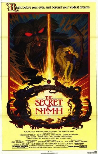 The Secret of N.I.M.H. (1982) poster