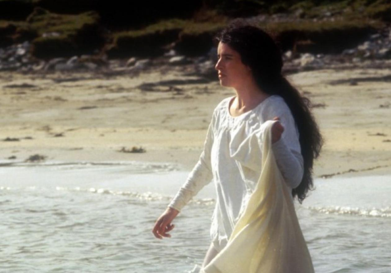 Susan Lynch as the selkie bride in The Secret of Roan Inish (1994)
