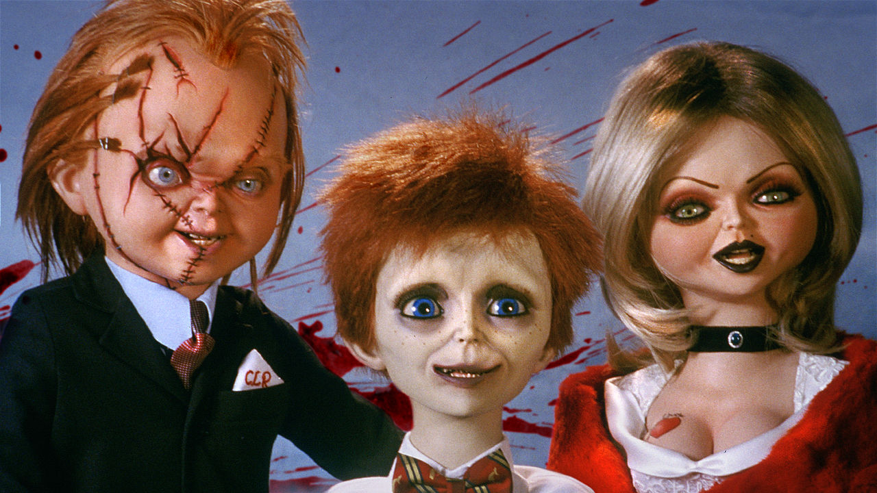 Family portrait - Chucky, Tiffany and their son Glen (c) in Seed of Chucky (2004)