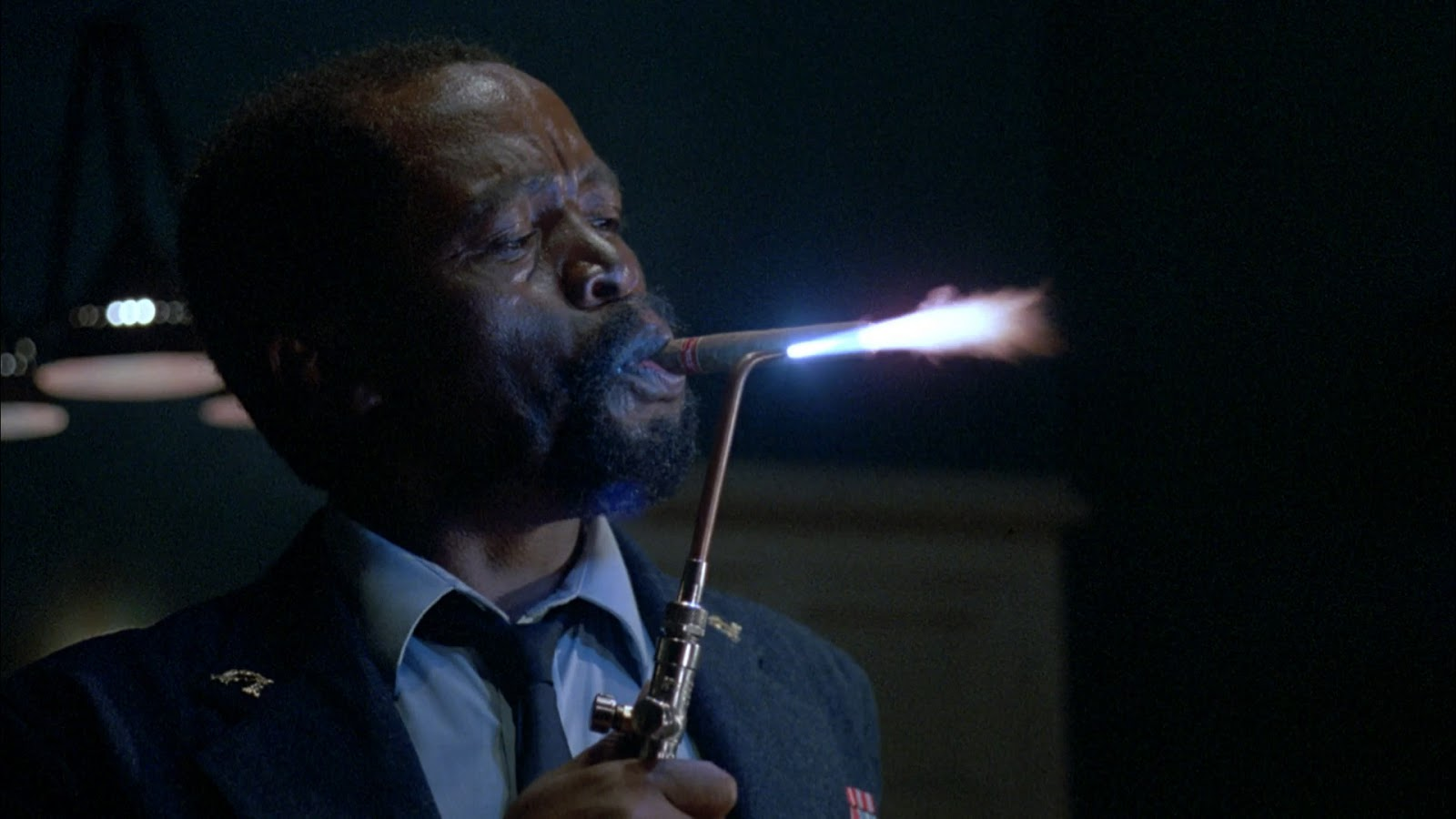 The Serpent anZakes Mokae as Dargent Peytraud, the Haitian Minister of Secret Police in d the Rainbow (1988)
