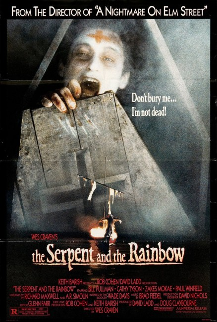 The Serpent and the Rainbow (1988) poster