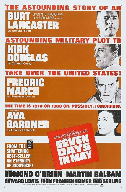 Seven Days in May (1964) poster 2