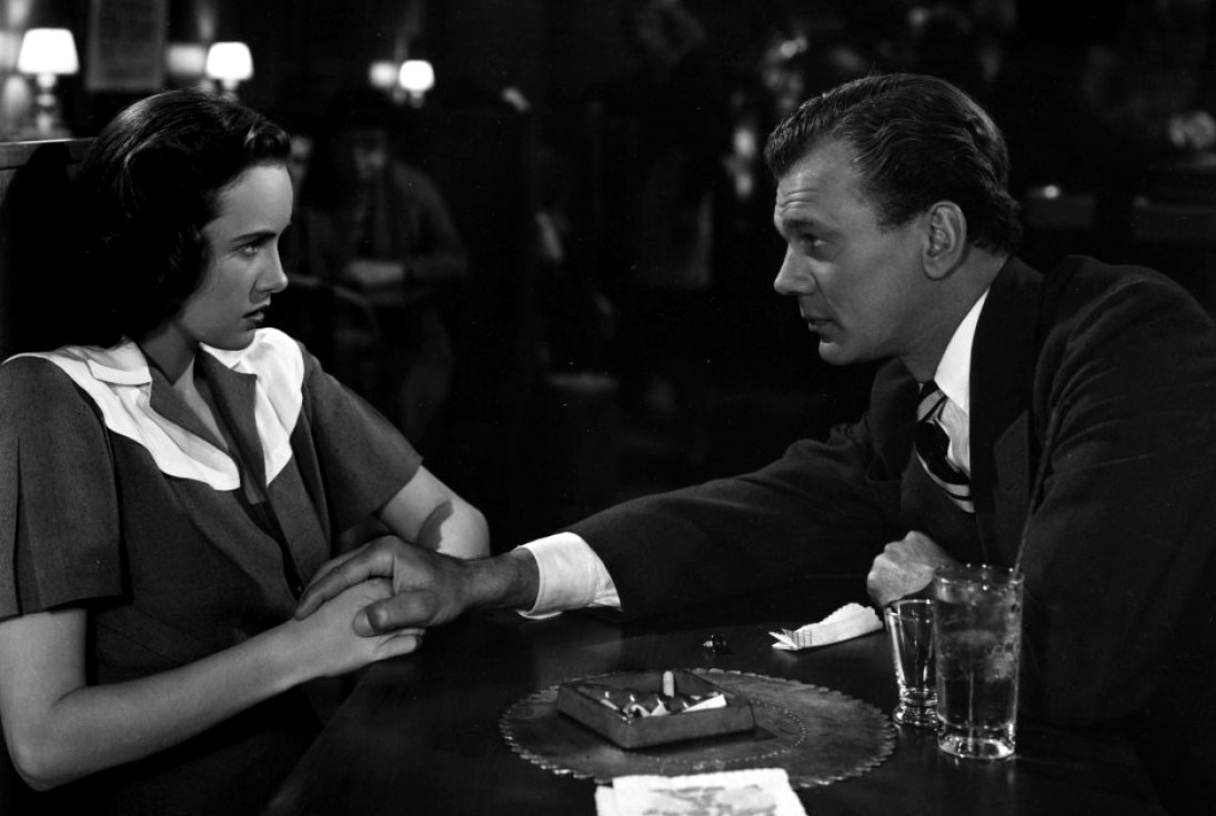 Teresa Wright and her sinisterly friendly Uncle Charlie (Joseph Cotten) in Shadow of a Doubt (1943)