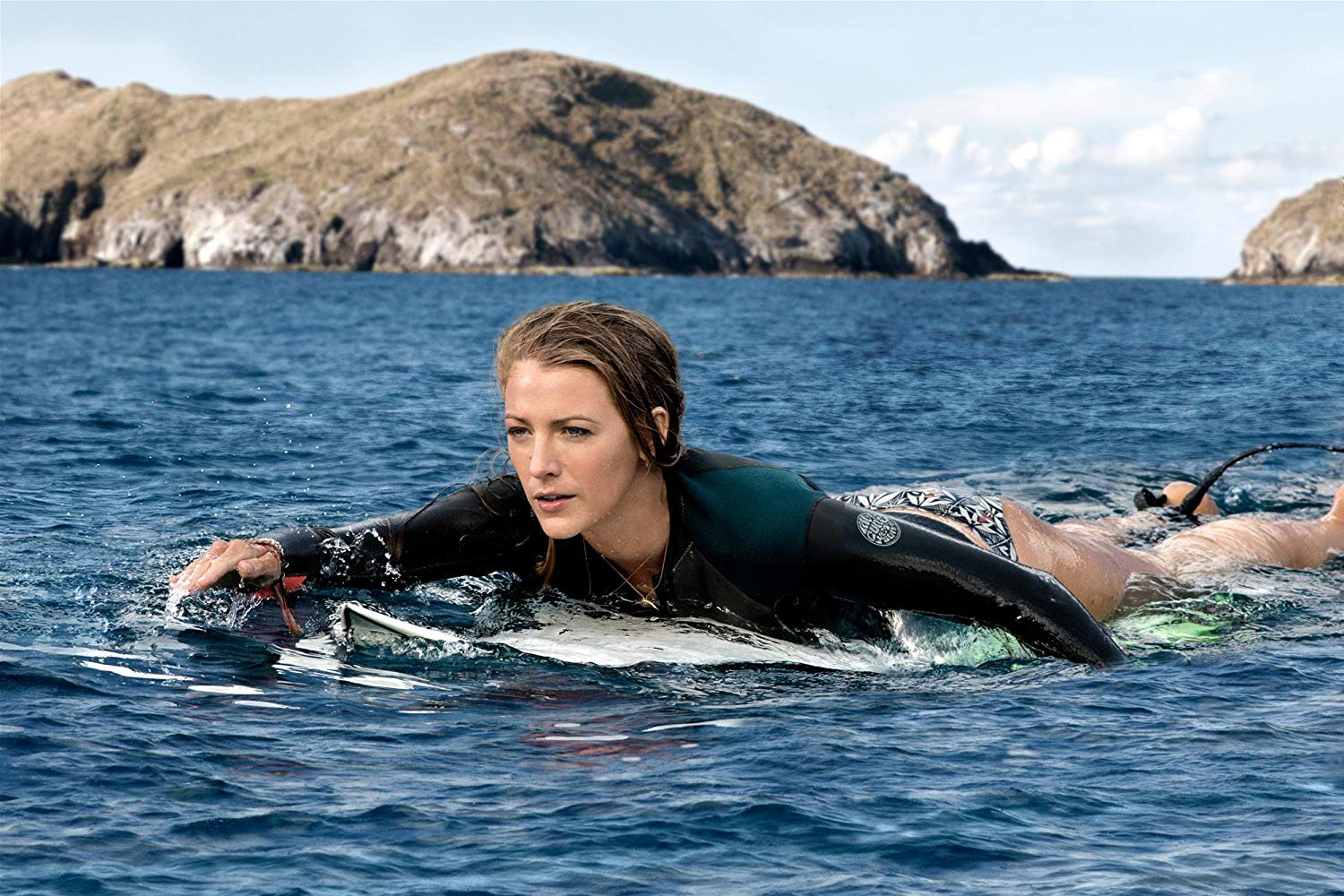 Blake Lively goes surfing in The Shallows (2016)