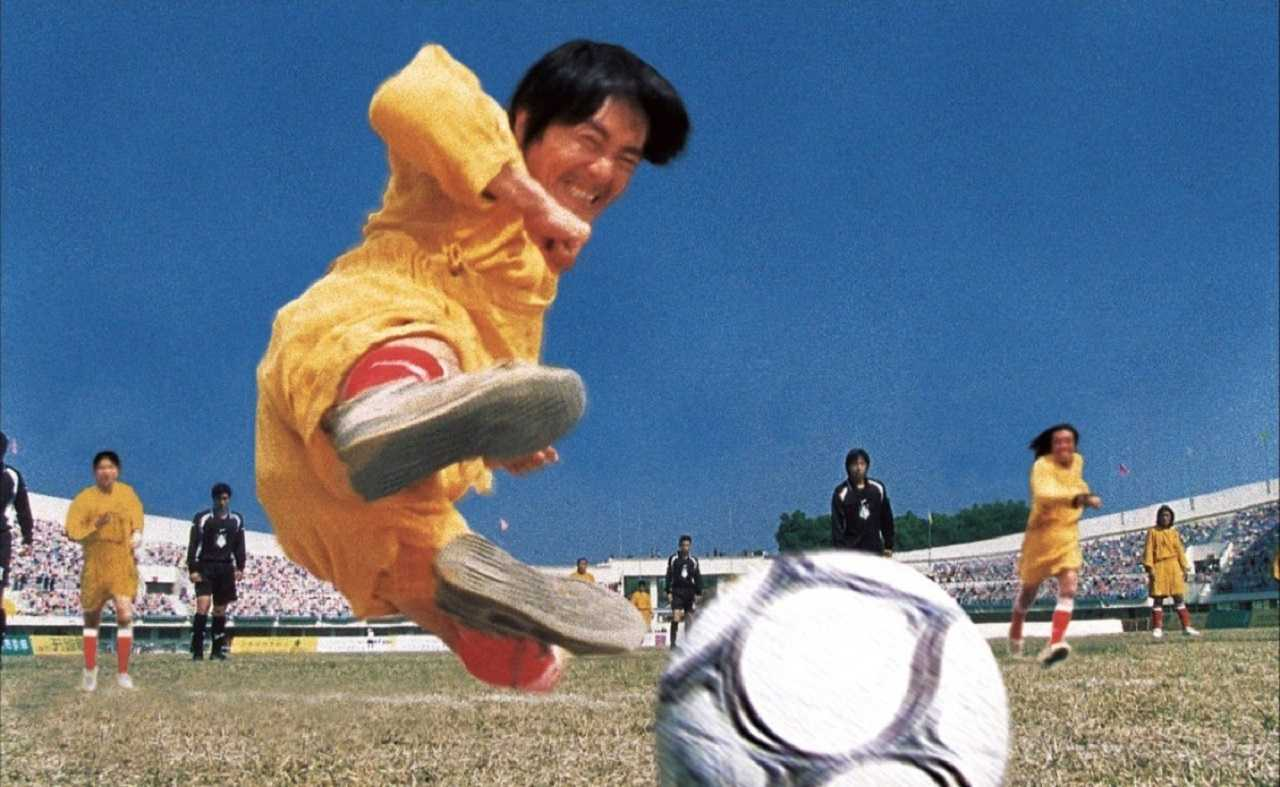 Martial arts and soccer - Stephen Chow in Shaolin Soccer (2001)