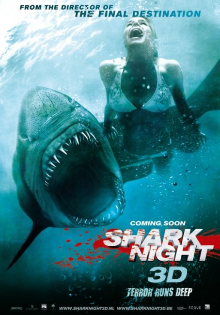 Shark Night 3D (2011) poster