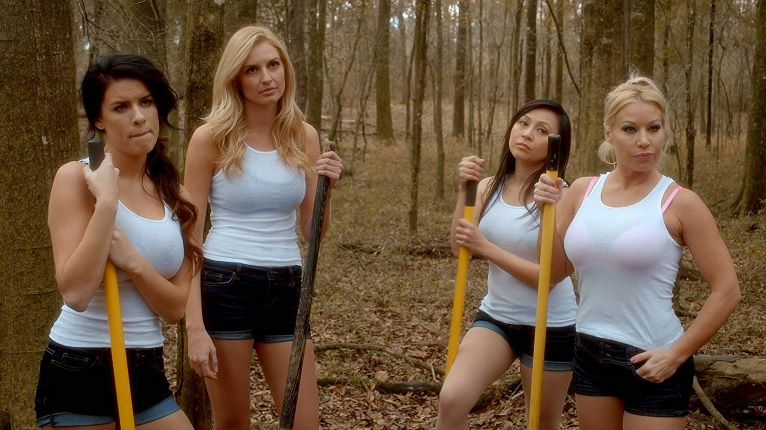 Skye McDonald, Amy Holt, Christine Nguyen, Cindy Lucas in Sharkansas Women's Prison Massacre (2016)