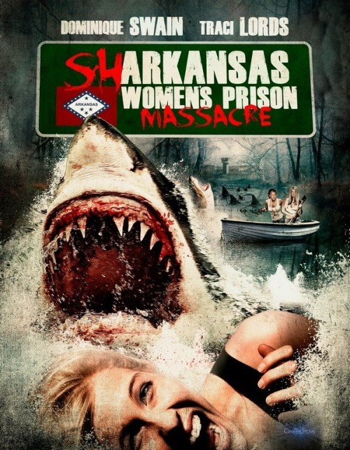 Sharkansas Women's Prison Massacre (2016) poster