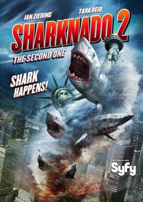 Sharknado 2 The Second One (2014) poster