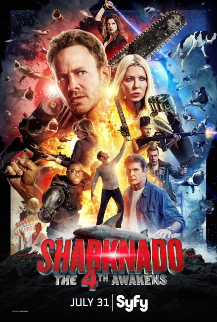 Sharknado The 4th Awakens (2016) poster