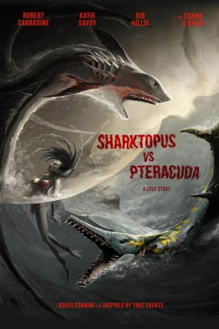 Sharktopus vs Pteracuda (2014) poster