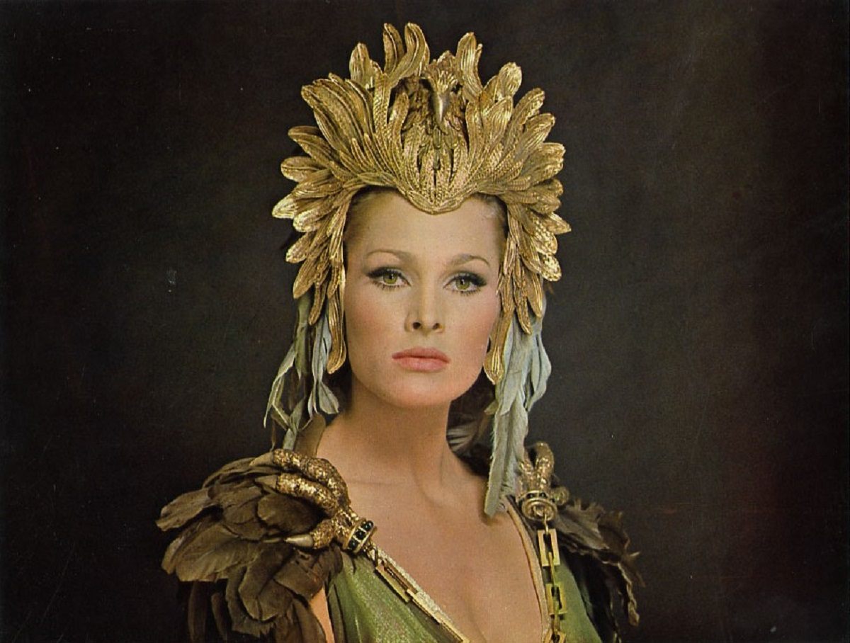 Ursula Andress as the immortal queen Ayesha in She (1965)
