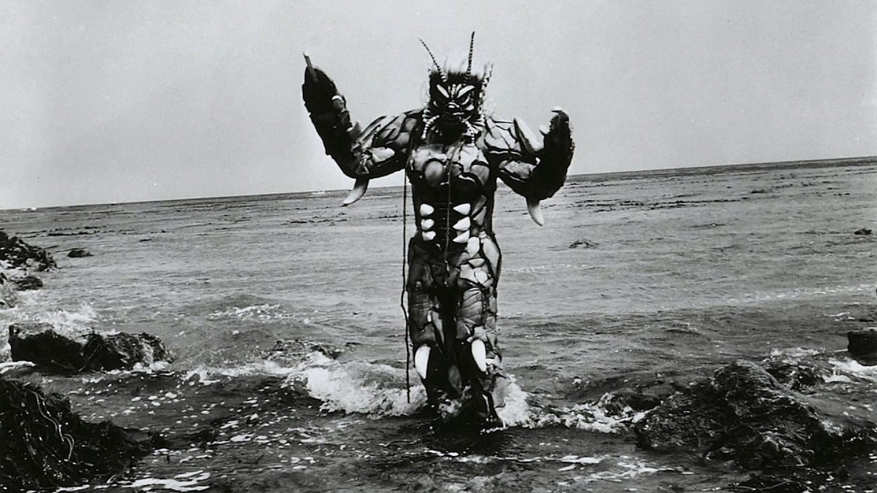 Paul Blaisdell as The She-Creature (1956)