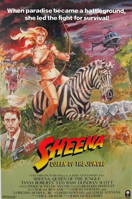 Sheena (1984) poster