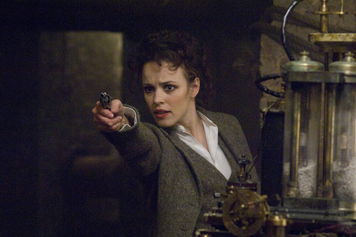 Irene Adler (Rachel McAdams) in Sherlock Holmes (2009)