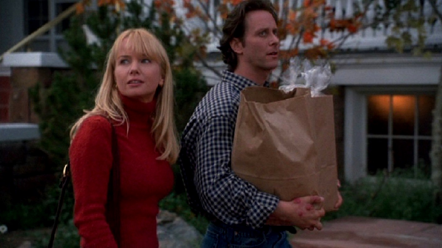 Wendy and Jack Torrance (Rebecca De Mornay and Steven Weber) in The Shining (1997)