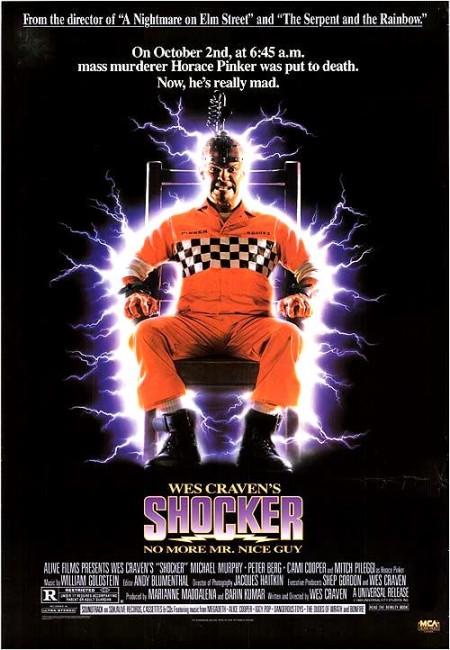 Shocker (1989) poster