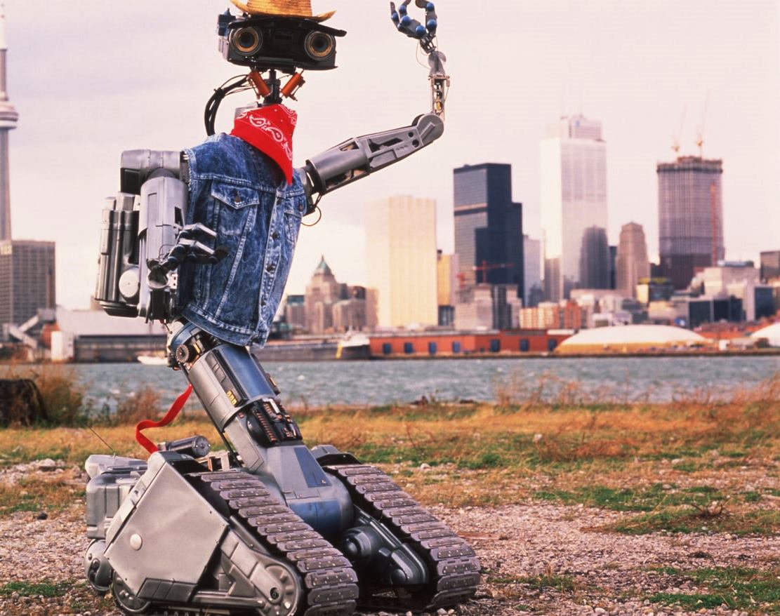 No 5 comes to New York City in Short Circuit 2 (1988)