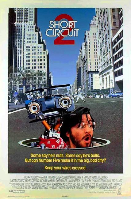 Short Circuit 2 (1988) poster