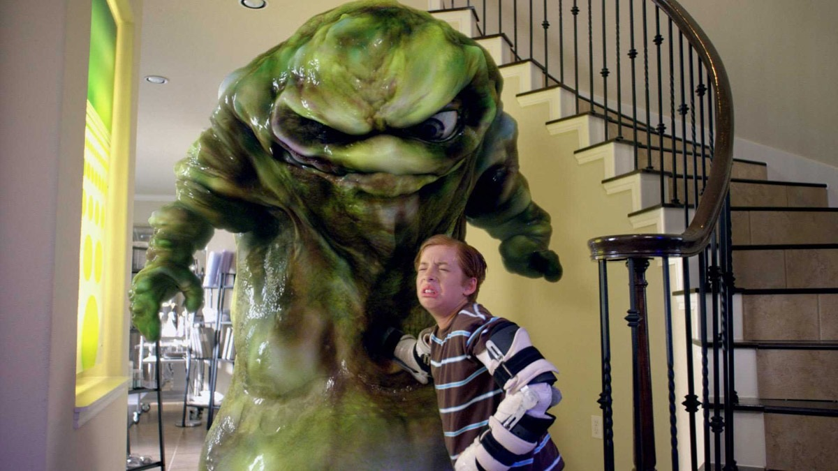 Jimmy Bennett wishes up a booger monster in Shorts (2009)