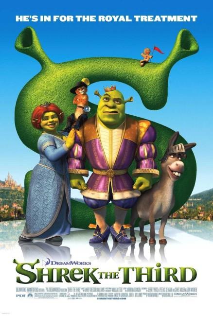 Shrek the Third (2007) poster