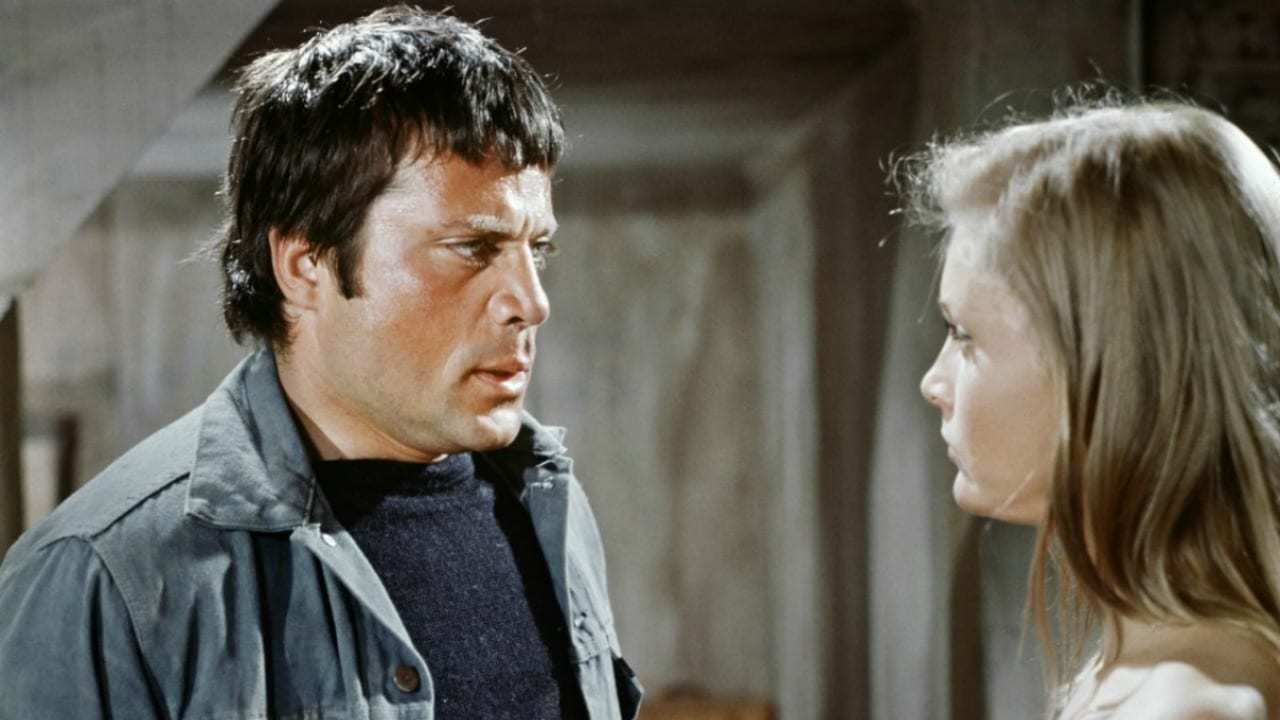Susannah Whately (Carol Lynley) and her cousin Ethan (Oliver Reed) in The Shuttered Room (1967)