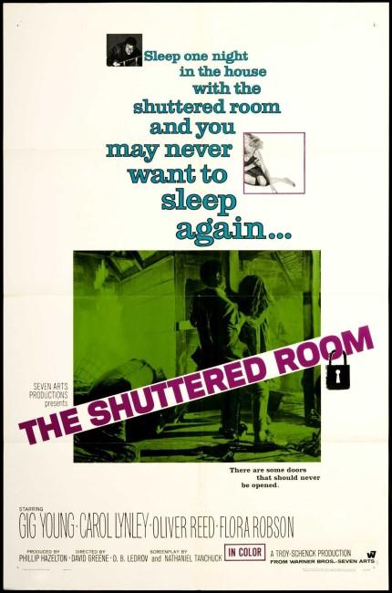 The Shuttered Room (1967) poster