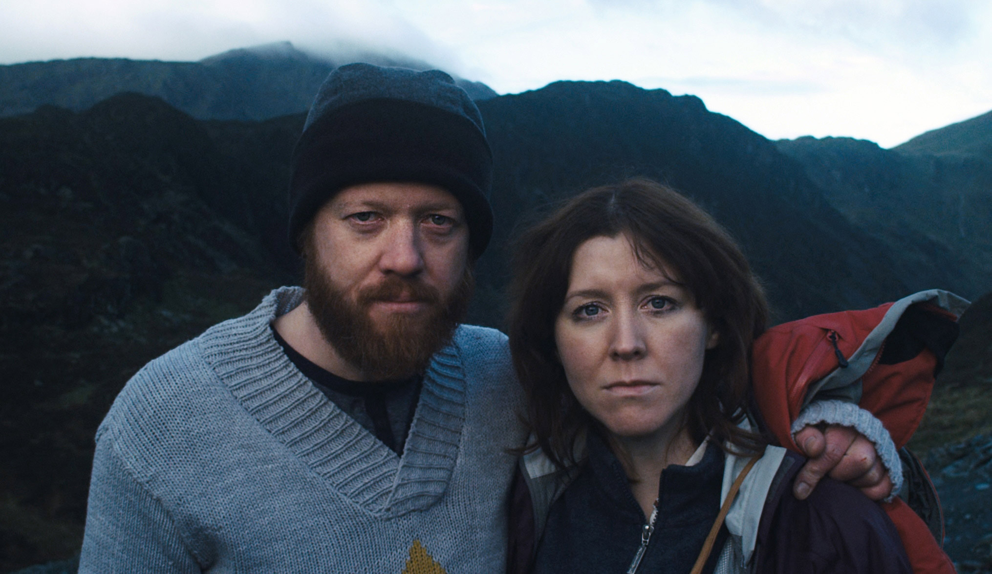 Co-writers and stars Steve Oram and Alice Lowe in Sightseers (2012)