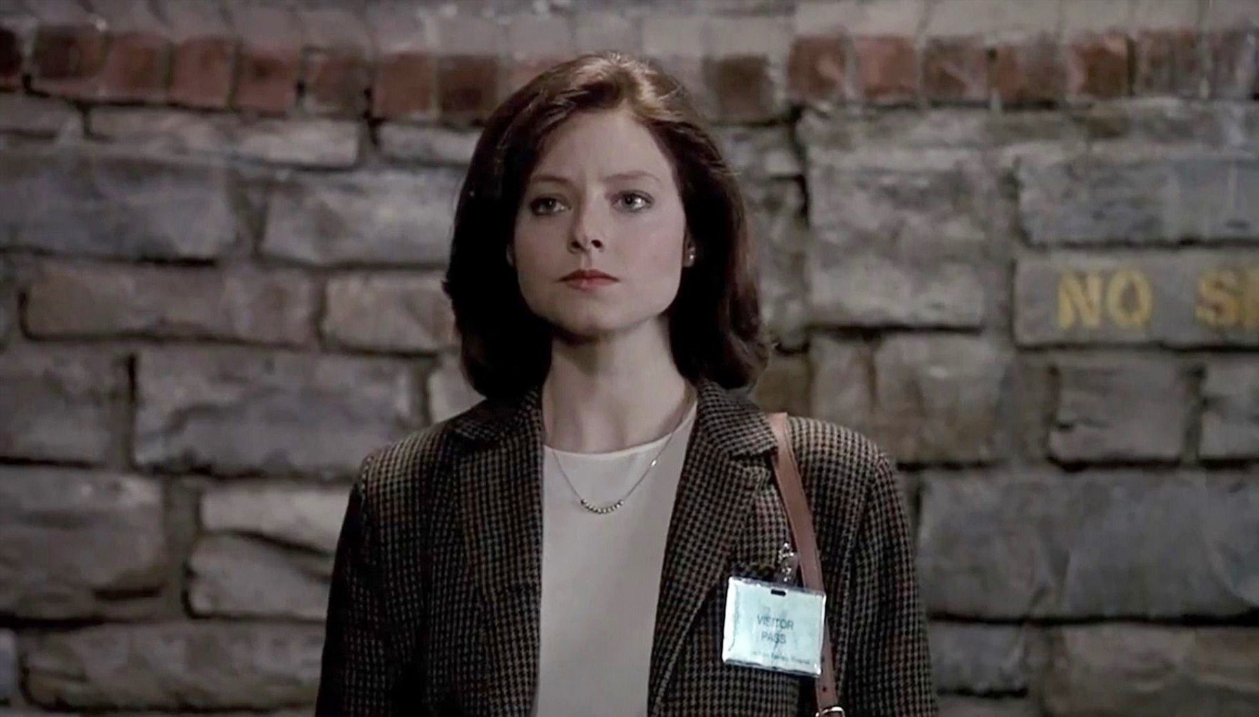 Trainee FBI agent Clarice Starling (Jodie Foster) in The Silence of the Lambs (1991)