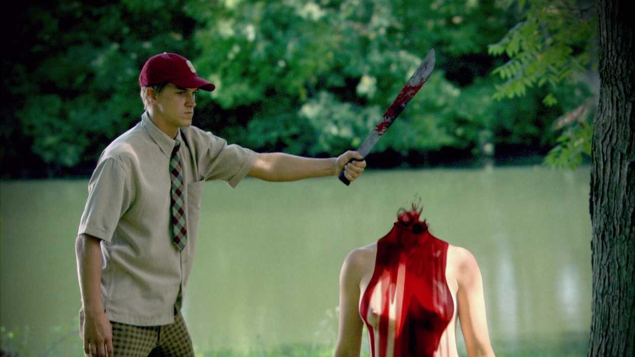 Psycho Jason Mewes beheads Nicole Arbourin Silent But Deadly (2011)