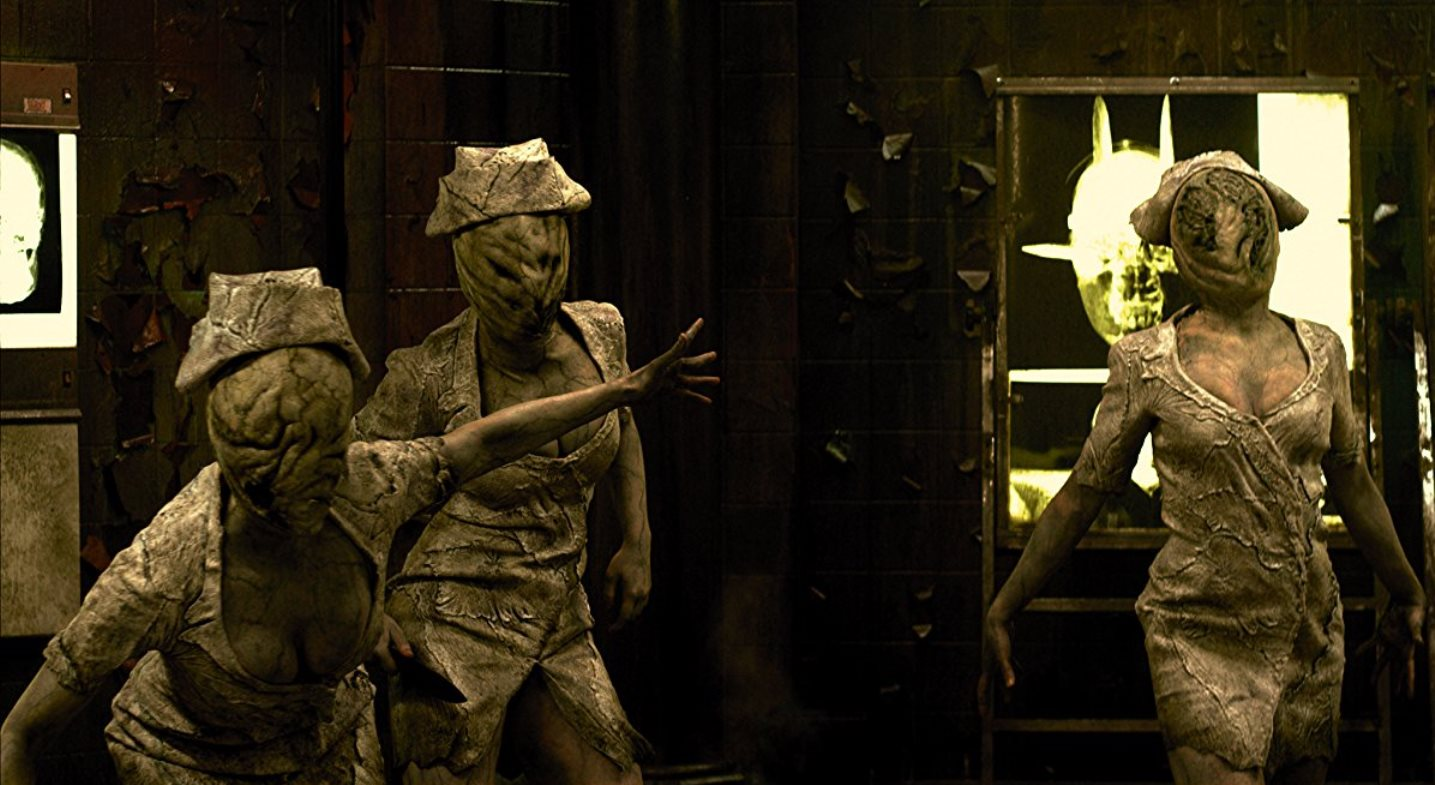 The Dark Nurses in Silent Hill: Revelation (2012)
