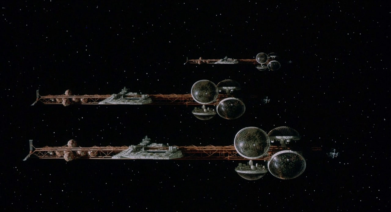 Spaceships from Silent Running (1972)