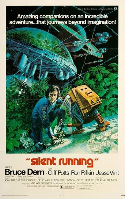 Silent Running (1972) poster