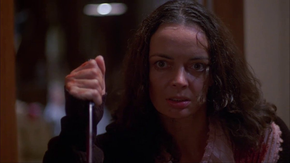 Barbara Steele in The Silent Scream (1980)