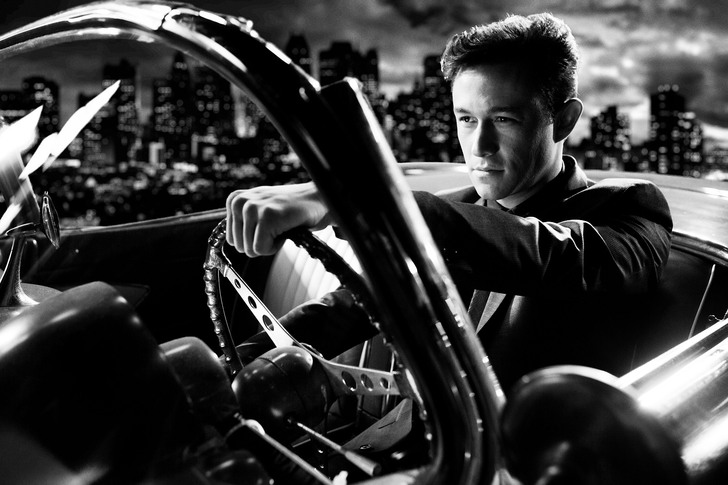 Joseph Gordon-Levitt as Johnny in The Long Bad Night episode of Sin City: A Dame to Kill For (2014)