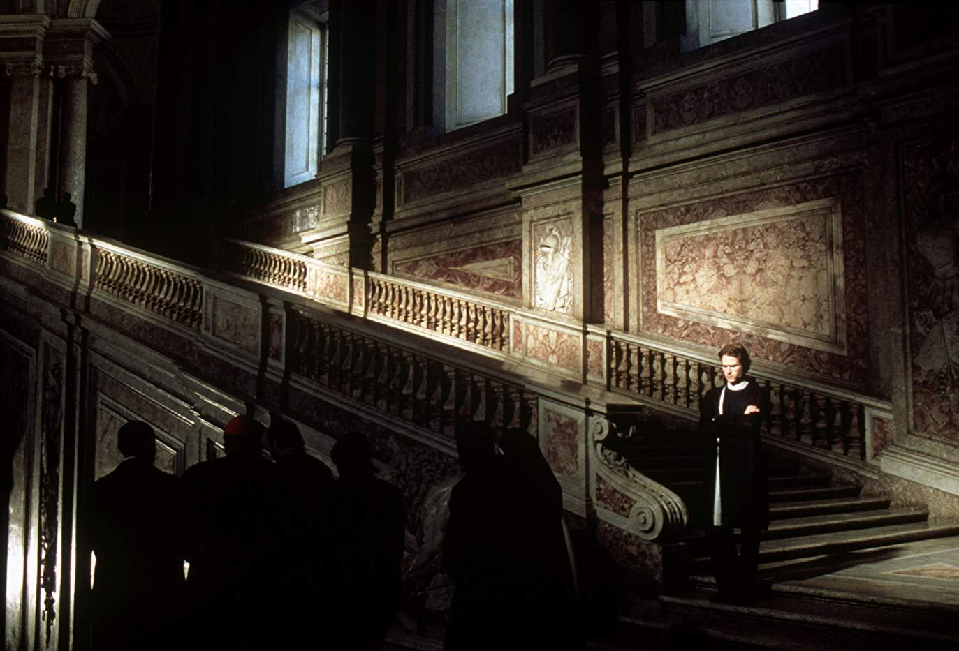 Priest Heath Ledger in search of secrets in The Vatican in The Sin Eater (2003)
