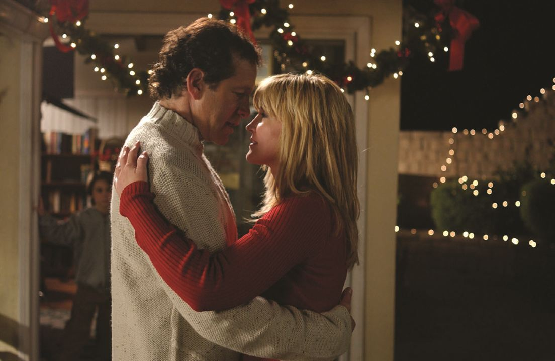 Steve Guttenberg as Santa's son woos Crystal Bernard in Single Santa Seeks Mrs. Claus (2004)