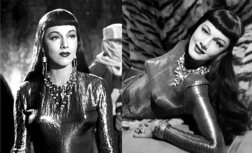 Maria Montez as Queen Antinea in Siren of Atlantis (1948)