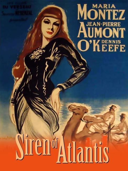 Siren of Atlantis (1948) poster