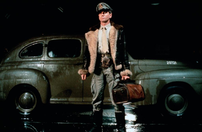 John Hargreaves as Flight-Lieutenant Harris in Sky Bandits (1985)
