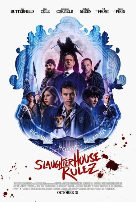 Slaughterhouse Rulez (2018) poster