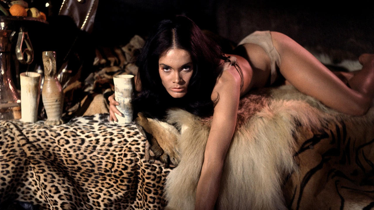 Martine Beswick in Slave Girls/Prehistoric Woman (1967)