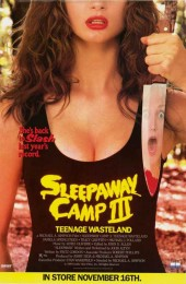 Sleepaway Camp 3: Teenage Wasteland (1989) poster