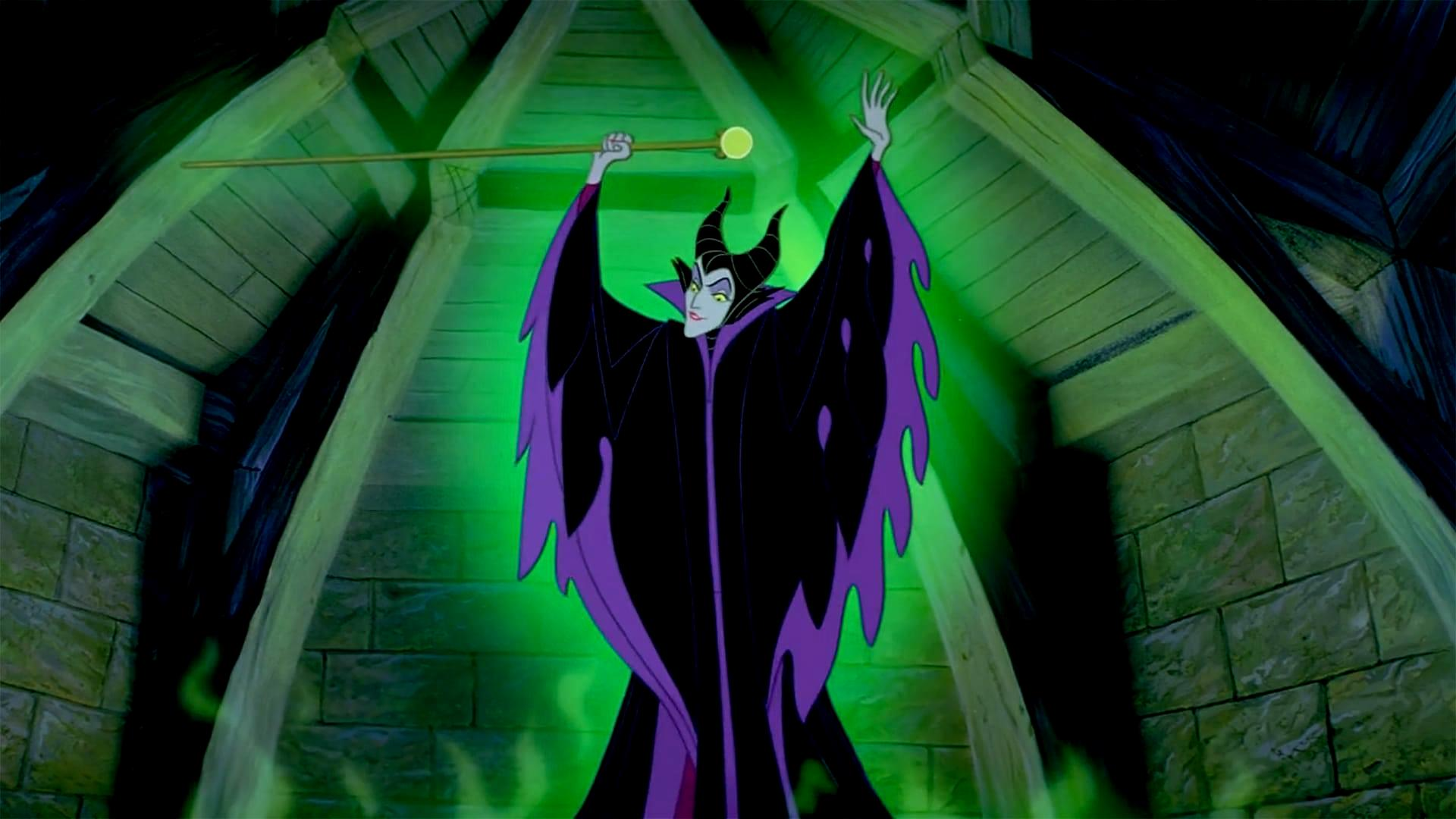 Maleficent (voiced by Eleanor Audley) in Sleeping Beauty (1959)