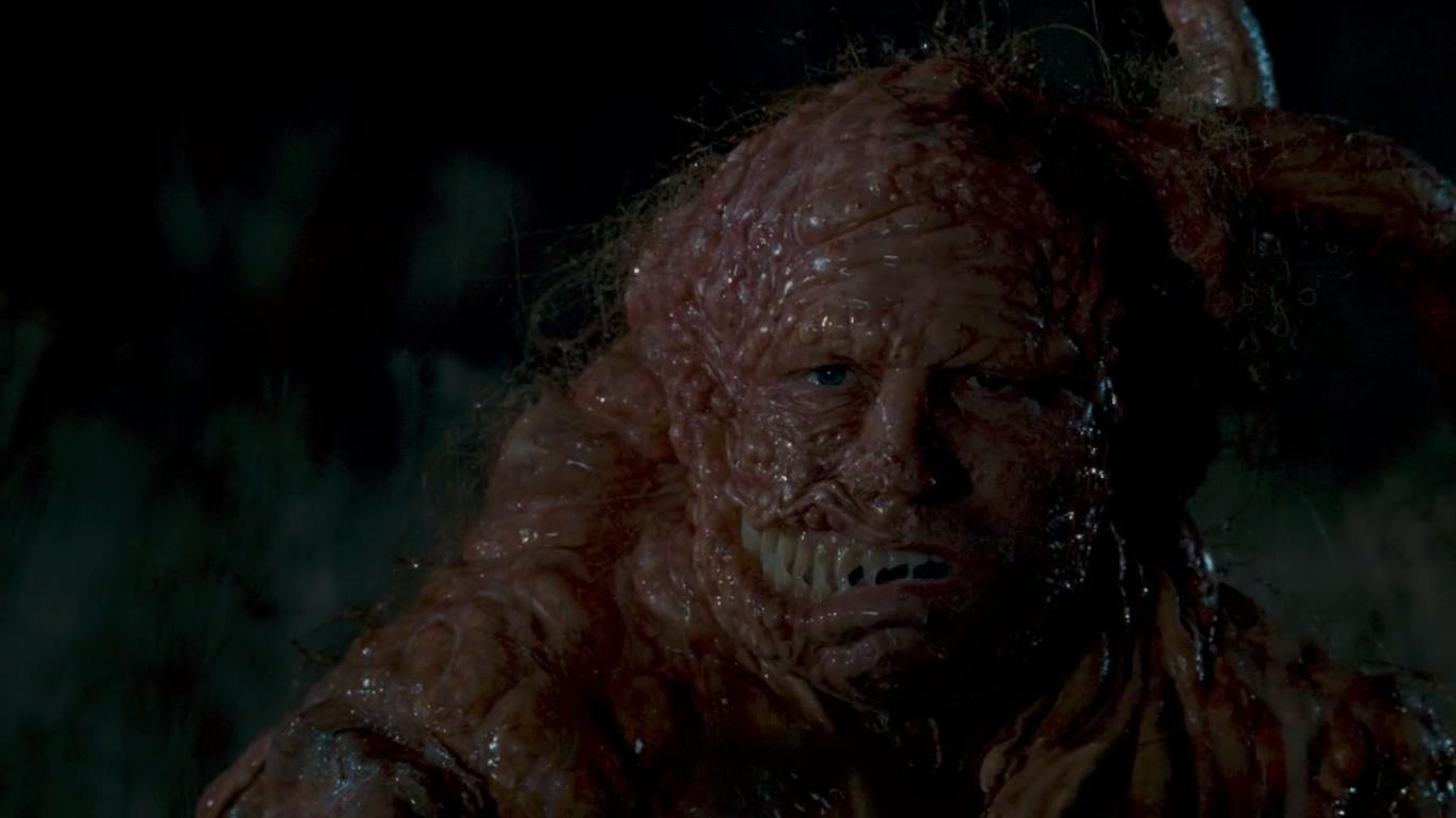 A mutated Michael Rooker in Slither (2006)