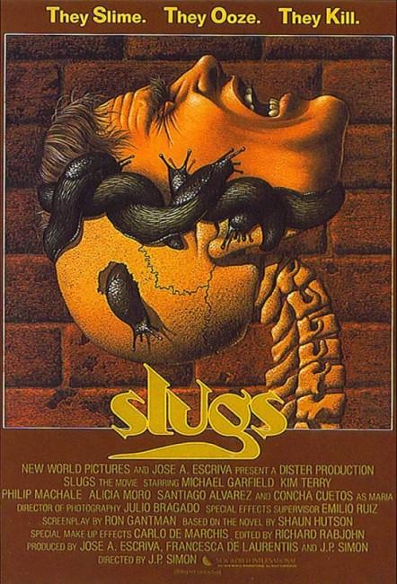Slugs (1988) poster
