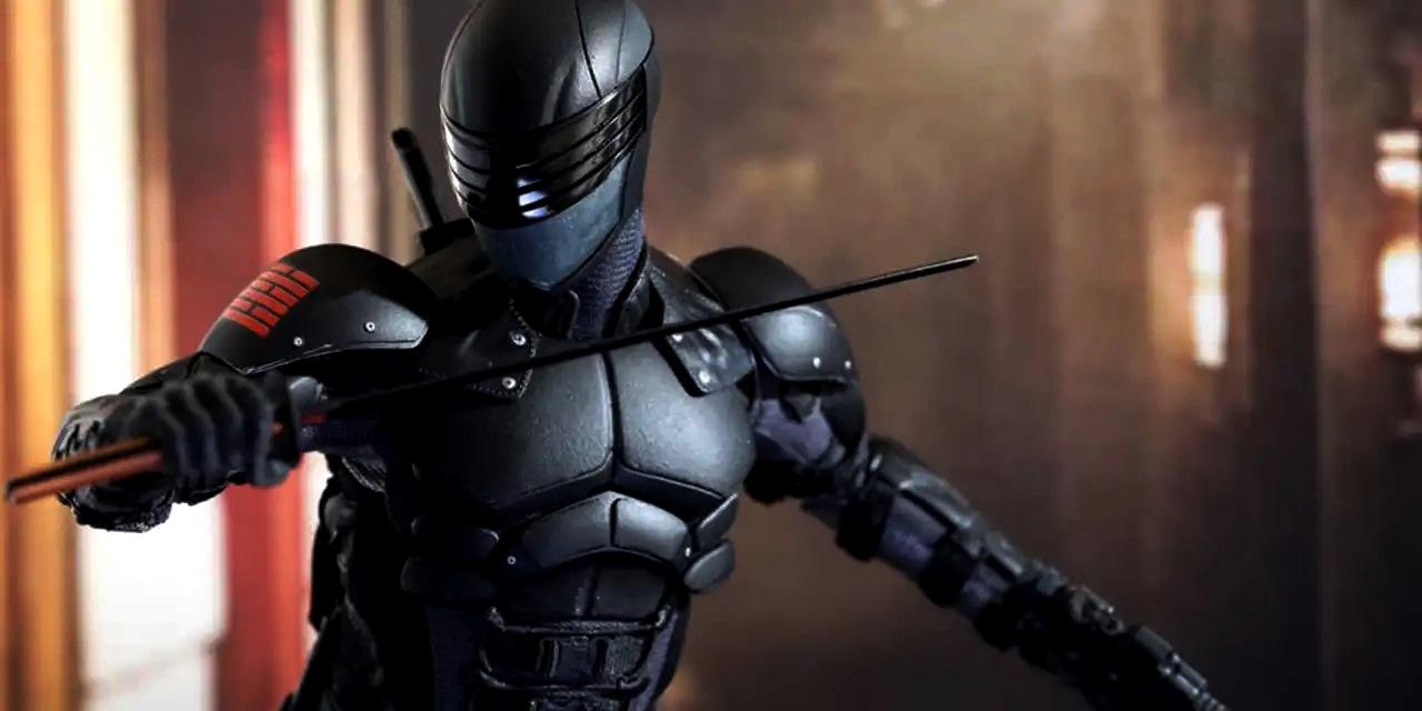 Henry Golding as Snake Eyes in Snake Eyes: G.I. Joe Origins (2021)