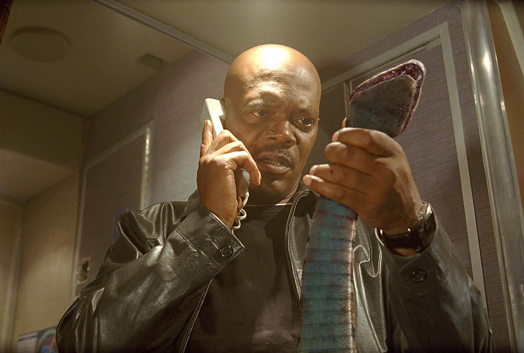 """I've had it with these motherfucking snakes on this motherfucking plane!"" - Samuel L. Jackson in Snakes on a Plane (2006)"