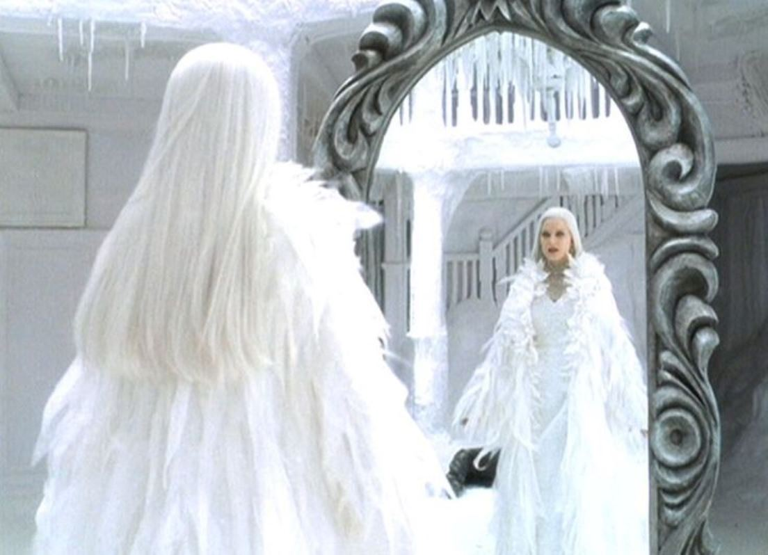 Bridget Fonda as The Snow Queen