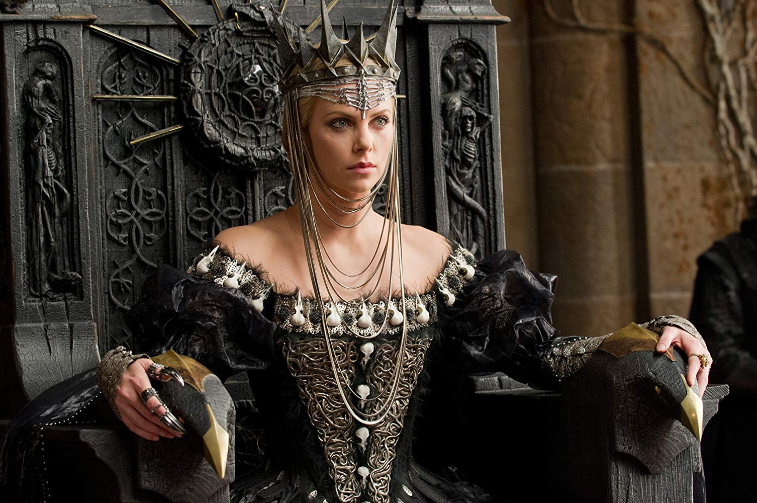 Charlize Theron as the Wicked Witch, Queen Ravenna in Snow White and the Huntsman (2012)